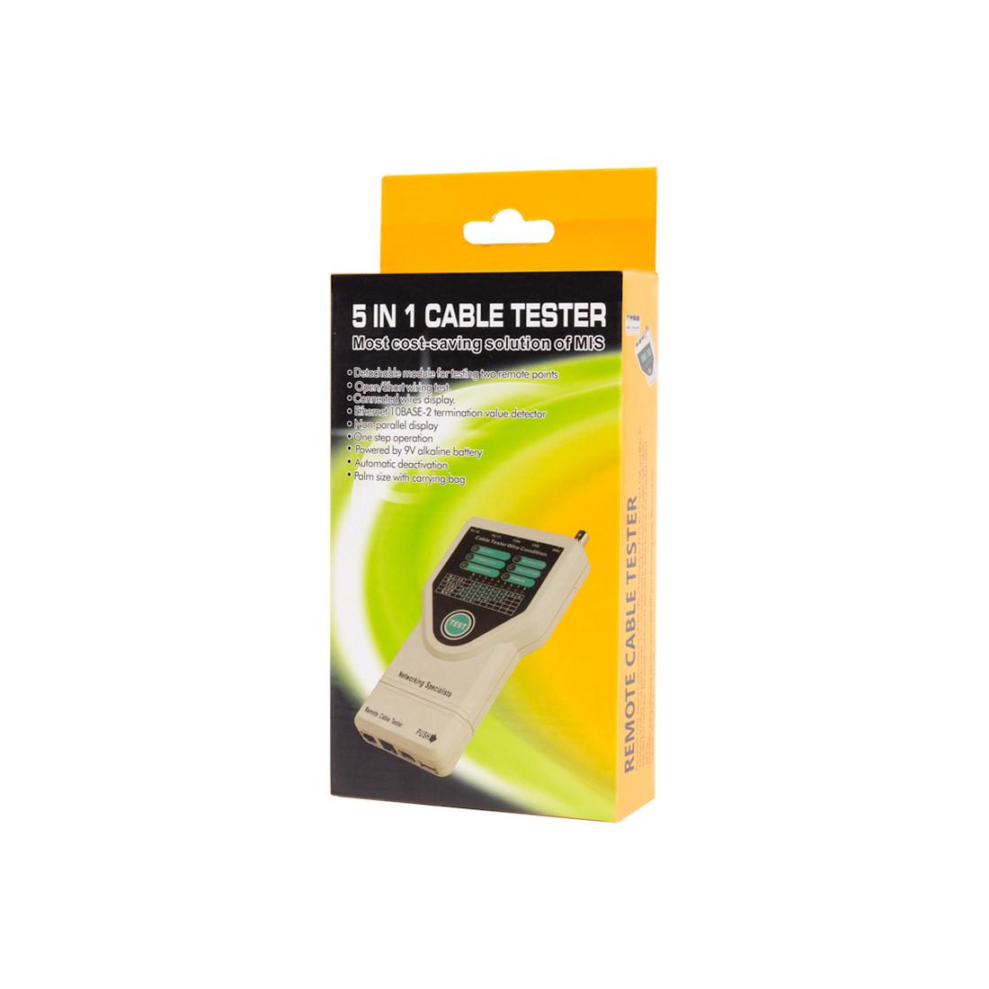 SHIP G278 Кабельный тестер Для тестирования BNC, RJ-45, RJ-11, USB, IEE 1394 Fire Wire