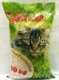 Котик Наполнитель древесный мелкие гранулы 10 кг.