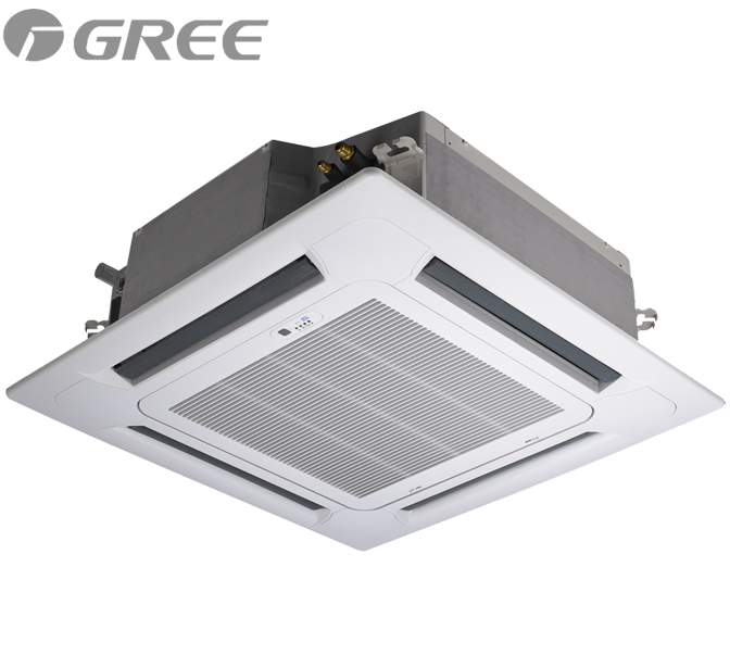 Кассетный кондиционер Gree: GU140T/A1-K-GU140W/A1-M (без соединительной инсталляции)