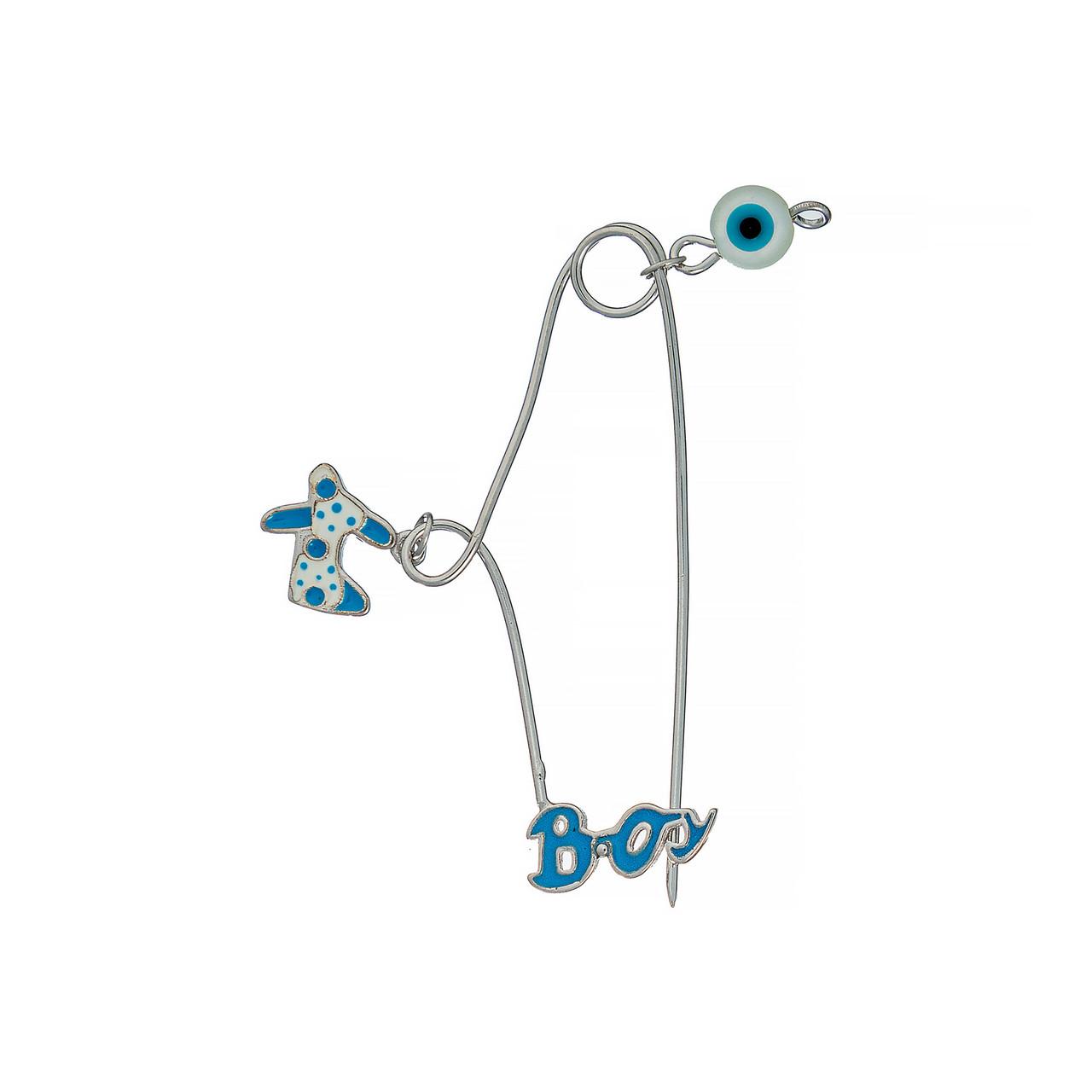 Серебряная булавка  Brosh Jewellery (Серебро 925) (серебряный, микс)