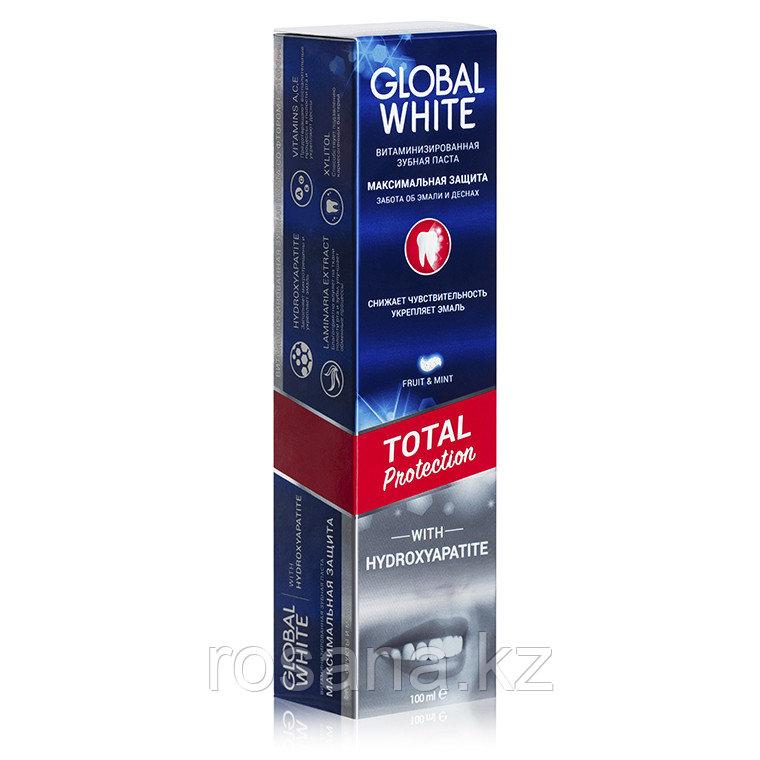 "Global White  ""Максимальная защита. Забота об эмалях и дёснах"" 100 мл"