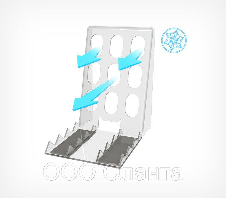 Опора пластиковая магнитная для выкладки товара BACK-FR-TM арт.777001