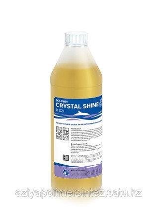 Концентрированное средство для мытья поверхностей из нержавеющей стали  Dolphin Crystal Shine 1л