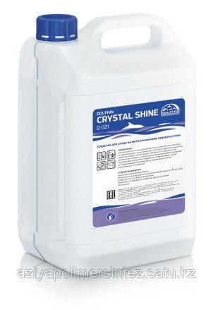 Концентрированное средство для мытья поверхностей из нержавеющей стали  Dolphin Crystal Shine 5 л