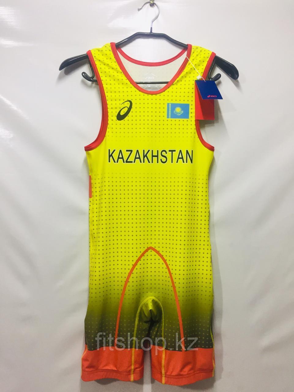 Трико борцовское для вольной и греко-римской борьбы, тяжело атлетическое Asics Казахстан