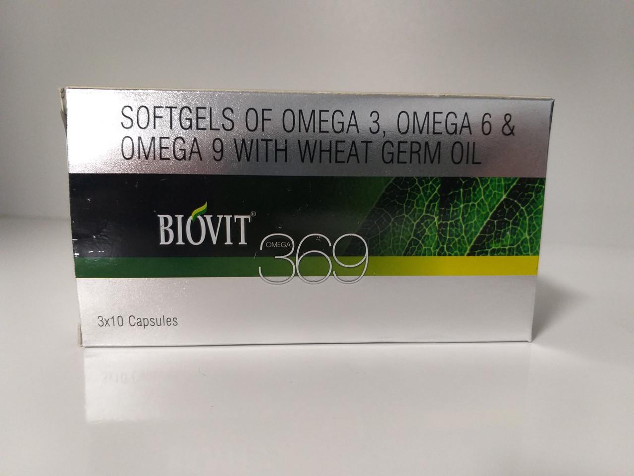 Омега 369, Biovit Omega 369, 30 капсул,