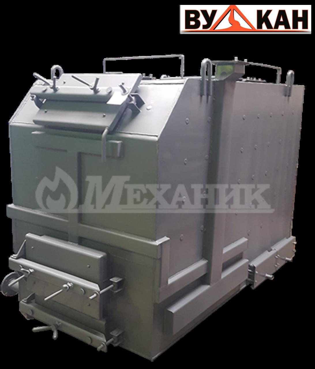 Котёл твердотопливный МЕХАНИК КВ -350 от 1500 до 2500 кв.м