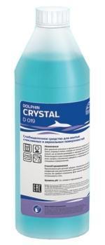 Средство для мытья всех стеклянных и зеркальных поверхностей -  Dolphin CRYSTAL 1 л.