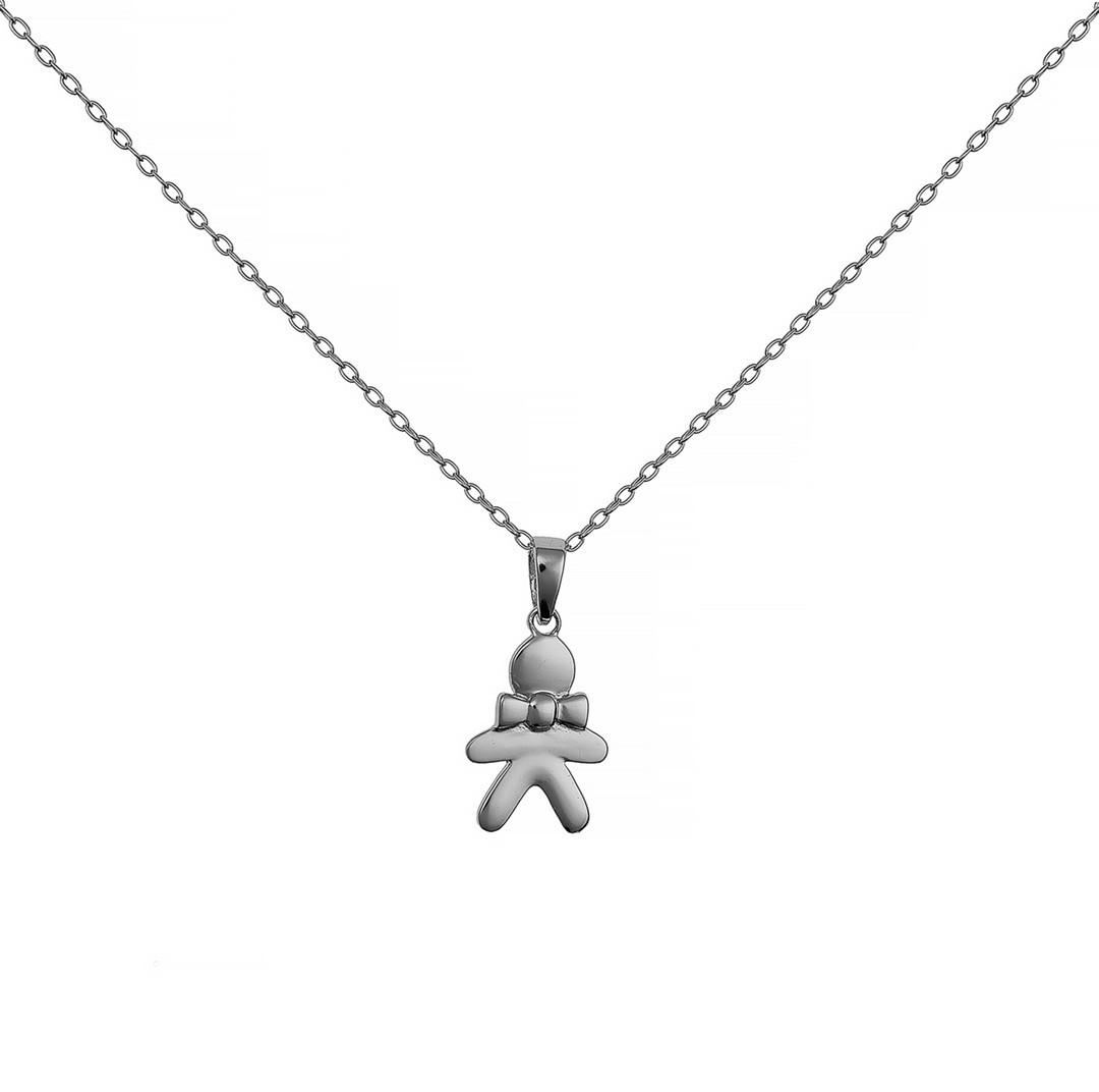 Серебряная подвеска (мальчик)  Brosh Jewellery (Серебро 925)