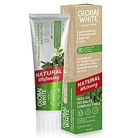 Global White Зубная паста 'Натуральное отбеливание. Энергия трав.' 100 мл