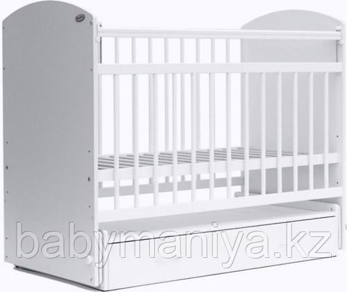 Кроватка детская Bambini Элеганс M 01.10.07 цвет Белый