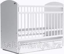 Кроваткадетская Bambini Элеганс M 01.10.07 цвет Белый