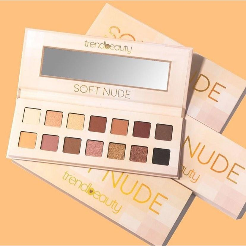 Палетка теней Soft Nude TREND BEAUTY