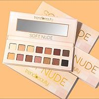 Палетка теней Soft Nude TREND BEAUTY