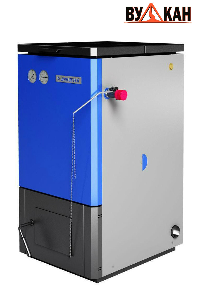 Котел отопления на твердом топливе «Прометей» - 12 кВт