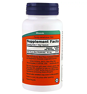 Now Foods, Пиколинат цинка, 50 мг, 120 растительных капсул, фото 2