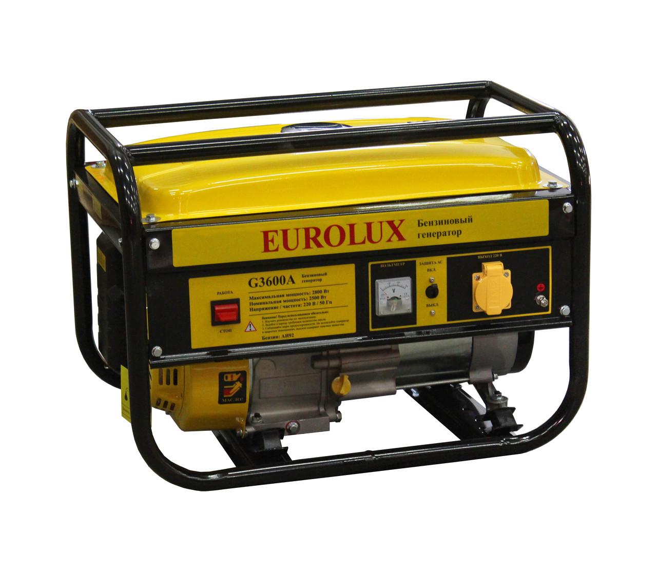 Бензиновый генератор EUROLUX