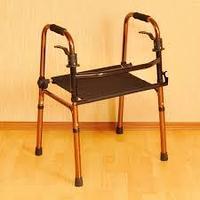 Ходунки для пожилых с сиденьем, фото 1