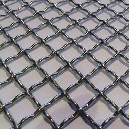 Сетка стальная рифленая ГОСТ3306-88