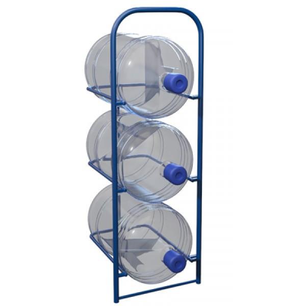 Стеллаж для 3 шт. 19 литровых бутылей с водой СВД 3 (Арт. 2336-T)