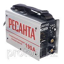 Сварочный аппарат  инверторный  САИ 190 Ресанта, фото 3