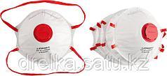 """Полумаска фильтрующая STAYER """"PROFI"""" коническая многослойная с клапаном, класс защиты FFP1, 10шт"""