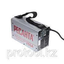 Сварочный аппарат  инверторный   САИ 250 в кейсе Ресанта, фото 2