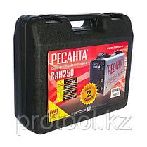Сварочный аппарат  инверторный   САИ 250 в кейсе Ресанта, фото 3
