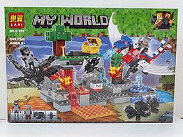 Конструктор LARI My world 11267 445 pcs. Minecraft. Майнкрафт