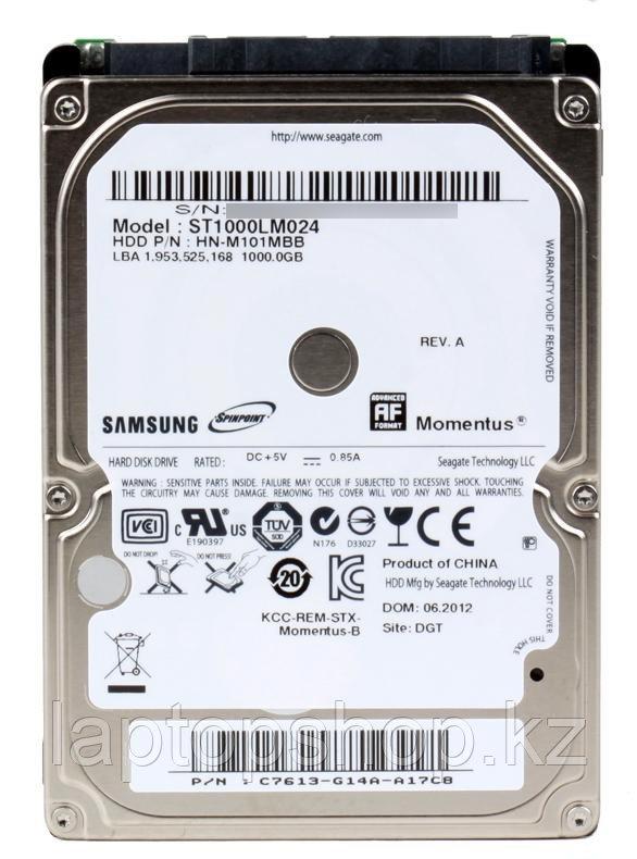 Жесткий диск HDD Seagate-Samsung 1Tb 2.5'' ST1000LM024, 5400rpm