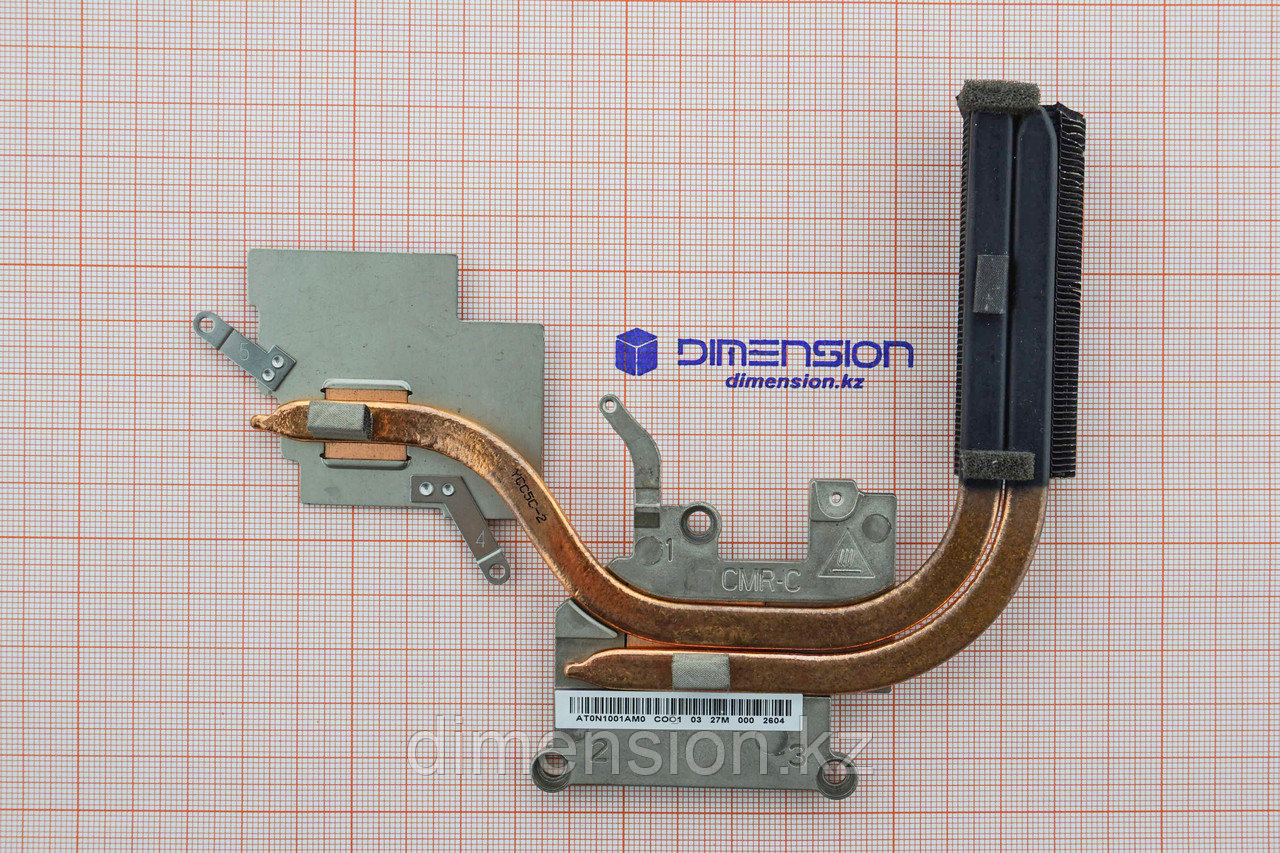 Система охлаждения, радиатор для LENOVO Ideapad G580 (для матовых корпусов)