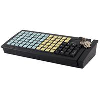Клавиатура программируемая Posiflex KB-6600U-B (USB) без ридера