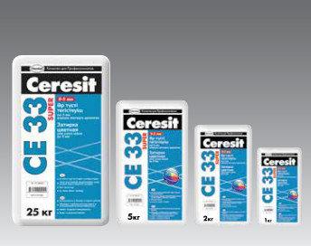Ceresit CE33 SUPER затирка для узких швов до 5 мм, цвет: Белый (KZ), 25 кг