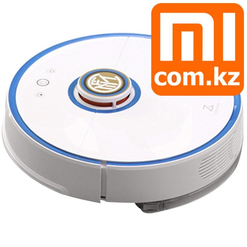 Робот пылесос моющий Xiaomi Mi Robot Vaccum Cleaner2 Inter Milan Blue, умный - сам почистит, сам зарядится