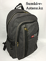 Городской джинсовый рюкзак DIESEL . Высота 42 см, ширина 28 см, глубина 17 см., фото 1