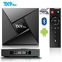Мощная ТВ-бокс приставка Tanix TX9 Pro (8-ми ядерный процессор / поддержка 4K (Ultra HD)