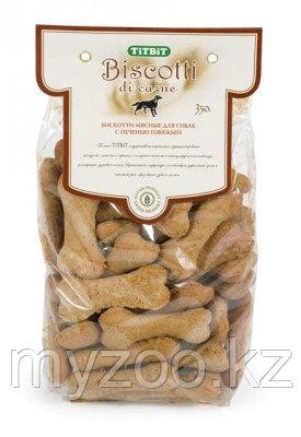 Tit Bit, Тит Бит Бискотти, печенье для собак с печенью говяжьей, 350гр