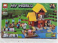 Конструктор Bela My world 10813 560 pcs. Minecraft. Майнкрафт
