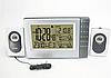 Беспроводная метеостанция с 2 радиодатчика: для сауны до 140°C и улицы температура и влажность