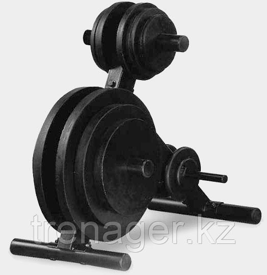 Подставка для олимпийских дисков--Body Solid OWT24