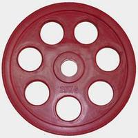 "Олимпийский диск евро-классик с хватом ""Ромашка"", 25 кг."