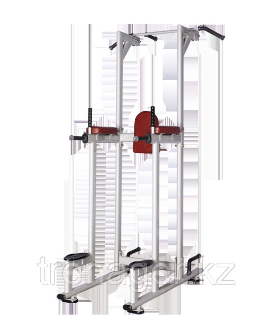 BRONZE GYM H-027 Турник/Пресс/Брусья (КОРИЧНЕВЫЙ)