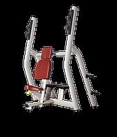 BRONZE GYM H-025B Скамья для жима вертикальная (КОРИЧНЕВЫЙ)
