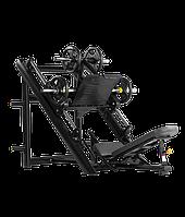 BRONZE GYM H-022 Жим ногами под углом 45 градусов (ЧЕРНЫЙ)
