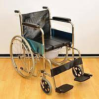 Кресло-коляска инвалидная с санитарным устройством, фото 1