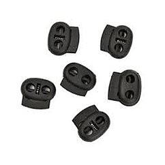 K2  фиксатор внут.шнурка  Lace Lock SLL-08 - black