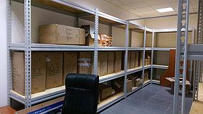 Металлические стеллажи для склада фармецевтической компании 4