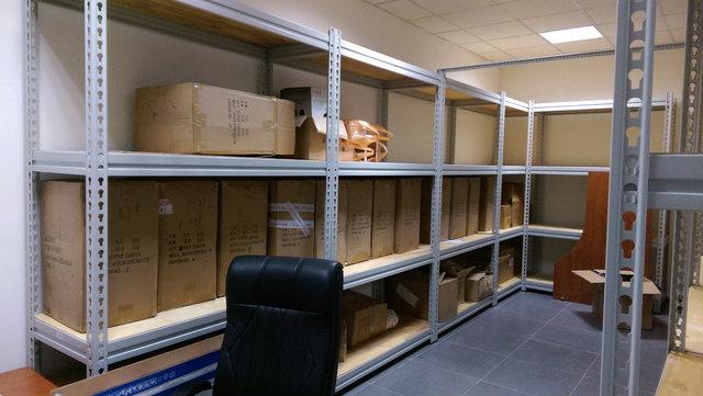 Металлические стеллажи для склада фармецевтической компании 11