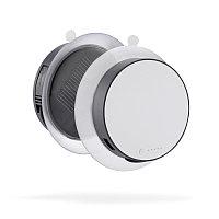 Зарядное устройство Port на солнечной батарее 1000 mAh, серый, серый; белый, , высота 2,6 см., диаметр 10 см.,