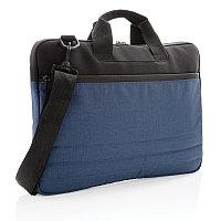 """Сумка для ноутбука 15"""", синий, Длина 41 см., ширина 29 см., высота 3,5 см., P788.065"""